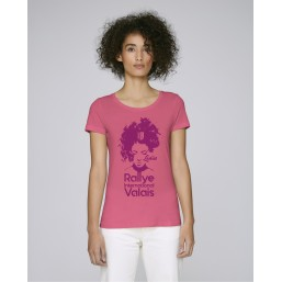 T-shirt Rallye International du Valais femme noir