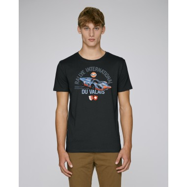 T-shirt Rallye Motor Show Emotion homme noir