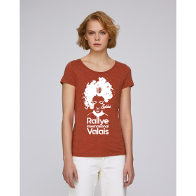 T-shirt Rallye International du Valais femme noir