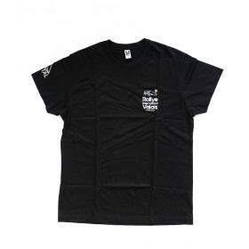 T-Shirt Noir - Dos Léopard